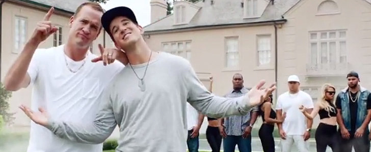 Peyton and Eli Manning Bring Their A Game With a New Rap Video
