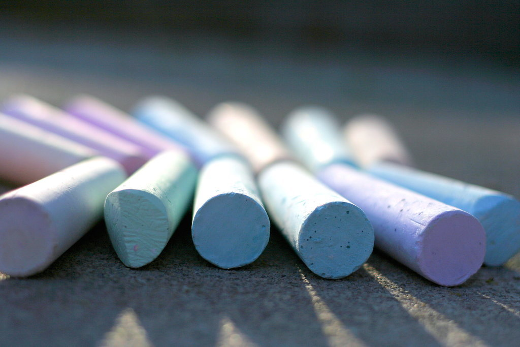 Decorate Your Sidewalks With Fabulous Chalk Art