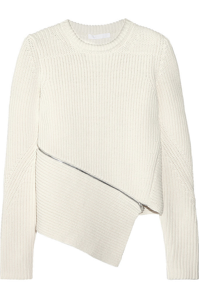 Alexander Wang Ribbed Sweater + Forever 21 Baroque Dress