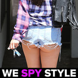 We Spy Selena Gomez Butt Cleavage 8.12 | Video