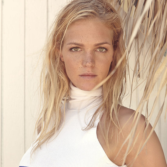 Erin Heatherton Models For The Strand Arcade in Sydney