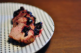 Blackberry Jalapeno Glazed Pork Tenderloin