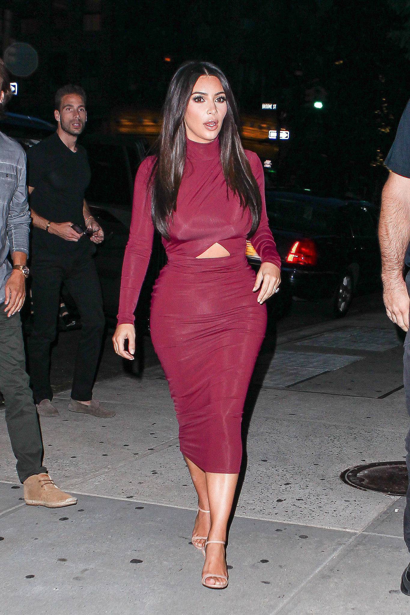 Kim Kardashian Street Style Kim Kardashian Is The Queen Of The Outfit Mullet Popsugar
