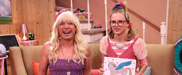 Taylor Swift Makes a Really Great Dork in Jimmy Fallon's Latest Skit