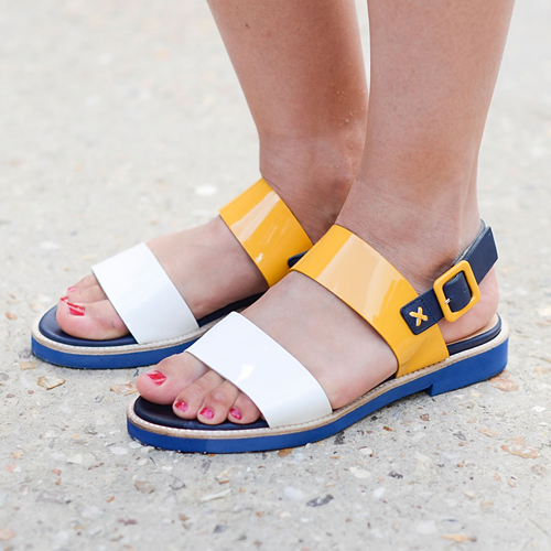 Ob entspannt oder elegant Top 50 Flache Sandalen