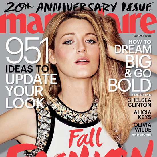 Blake Lively Interview in Marie Claire September 2014 Issue