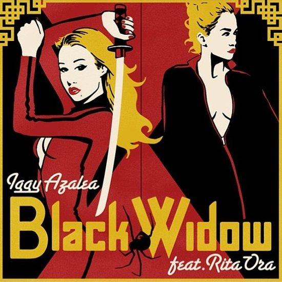 Iggy Azalea and Rita Ora in Black Widow Music Video