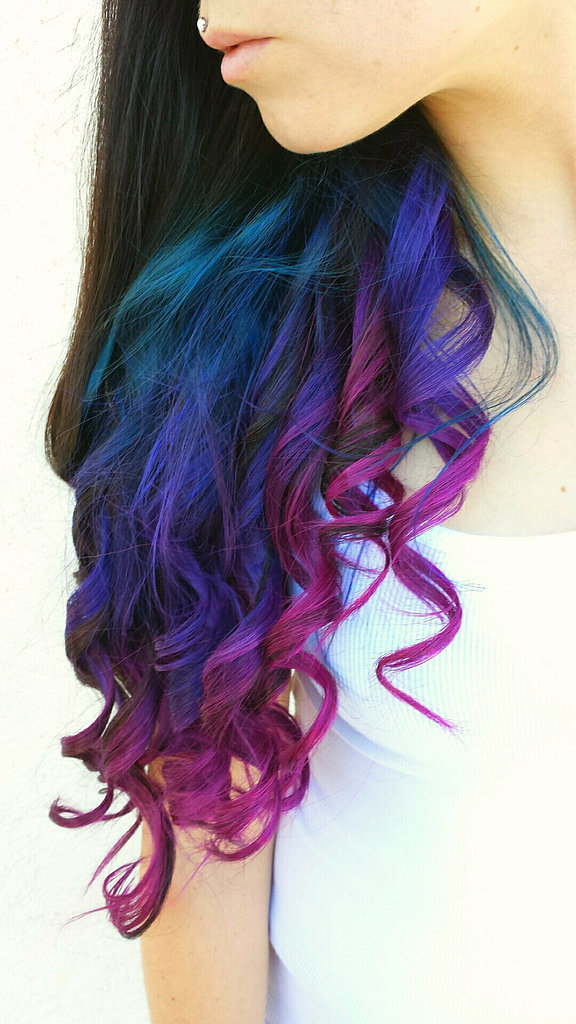 Rainbow Hair Color Ideas | POPSUGAR Beauty