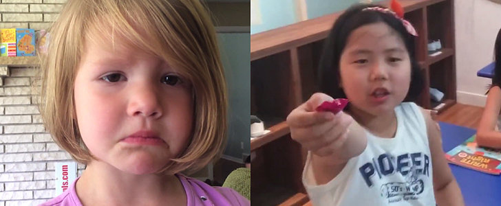 What's Trending: A Little Girl Deletes a Photo, Kids Try Warheads For the First Time, and More