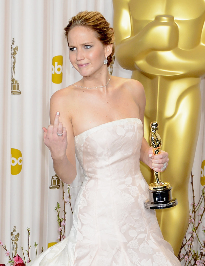 When She Won an Oscar and Flipped Everyone Off Just Because