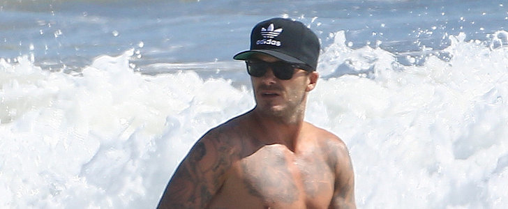 David Beckham's Abs Would Like to Make Your Day Better