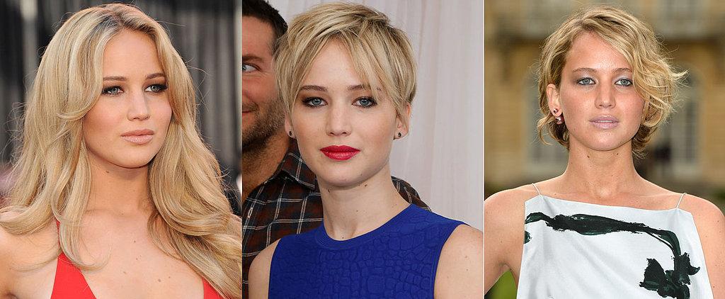 Jennifer Lawrence's Beauty Evolution