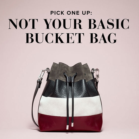 Pick One Up: Not Your Basic Bucket Bag