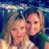 """""""Oh how the stars shine for good friends,"""" Reese wrote about these selfie she shot with pal Mary Alice Haney.  Source: Instagram user reesewitherspoon"""