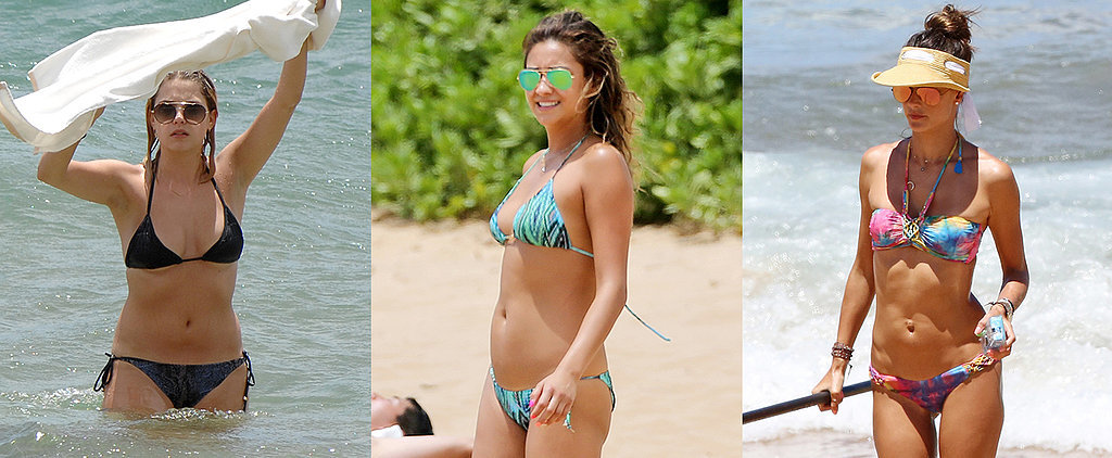 100+ Hot Pictures of Bikini-Clad Stars