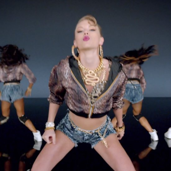 Taylor Swift Twerking in Shake It Off Music Video