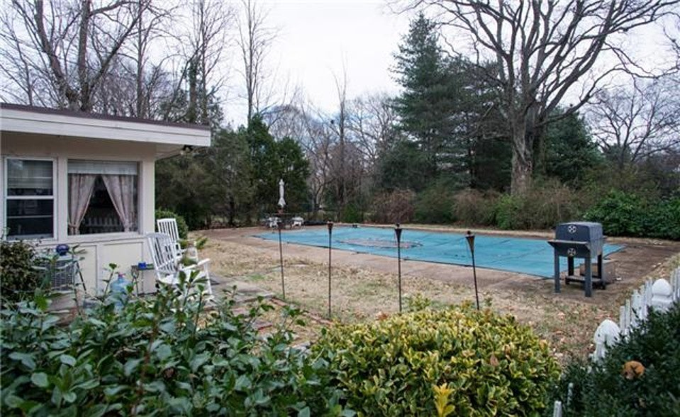 While it needs an overhaul, this pool will eventually make an appealing Summer sanctuary. Source: Zillow