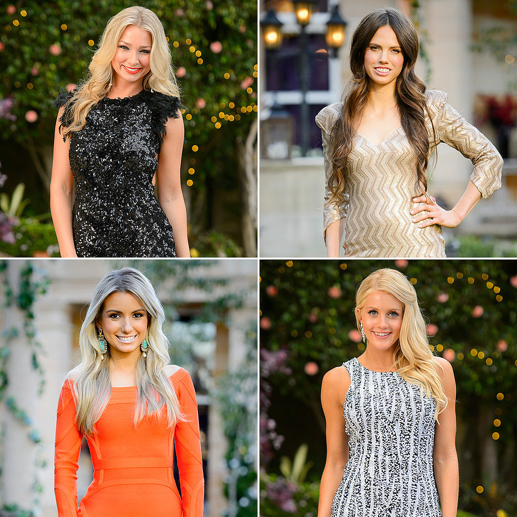 The Bachelor 2014 Girls The girls on the bachelor have