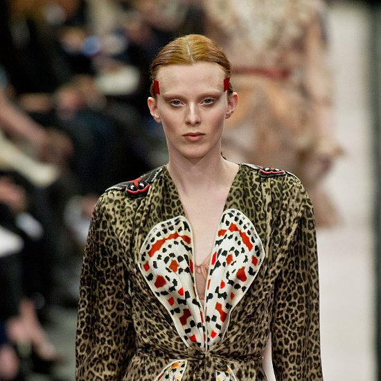 Givenchy Runway Hair and Makeup History