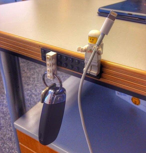 And Then Create a Lego Keychain