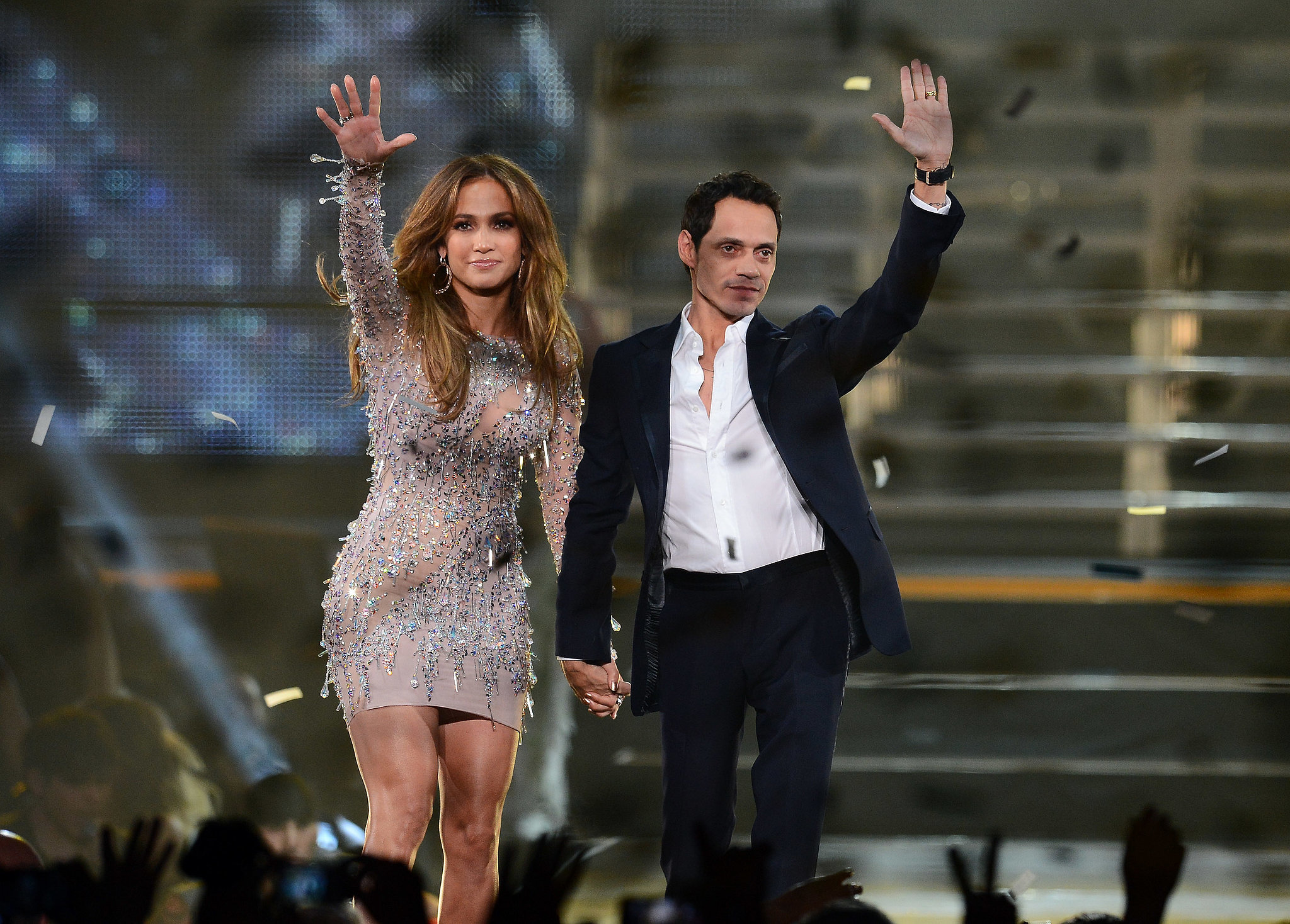 J Lo and Marc Anthony