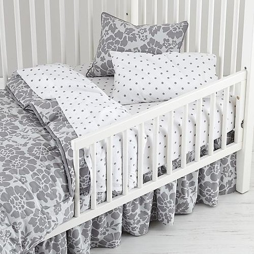 Gray and White Toddler Set