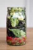 Guacamole Mason-Jar Salad