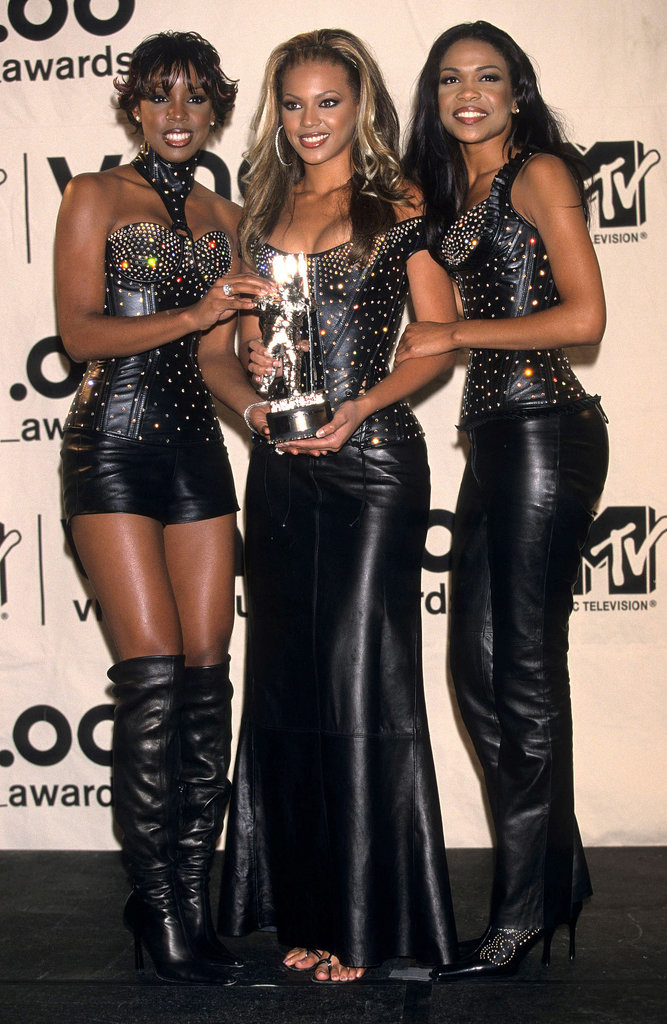 "2000: Destiny's Child picked up the best R&B video award for ""Say My Name."""