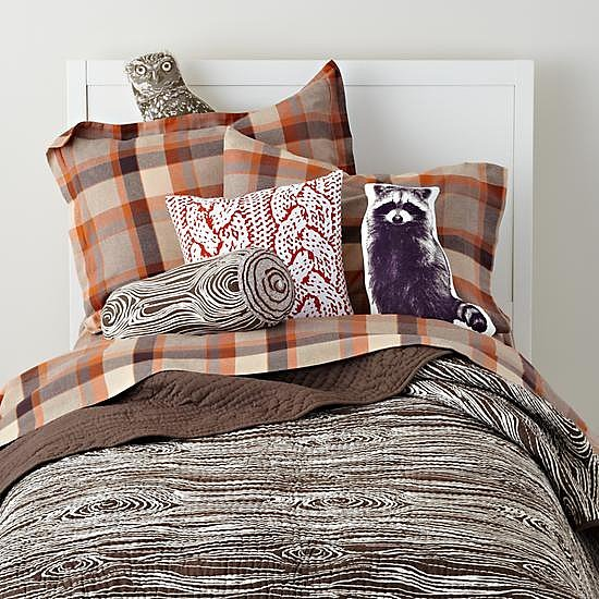 Urban Lumberjack Bedding