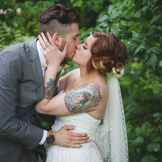 Enchanting, Vintage Forest Wedding