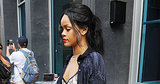 Rihanna Went Apartment-Hunting in a Bathrobe