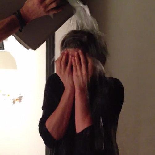 Jennifer Aniston Ice Bucket Challenge Video