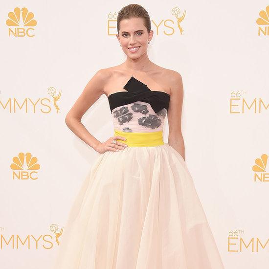 Allison Williams's Dress at Emmys 2014