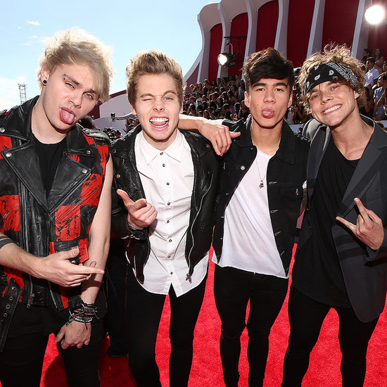 5 Seconds of Summer at the 2014 MTV Video Music Awards