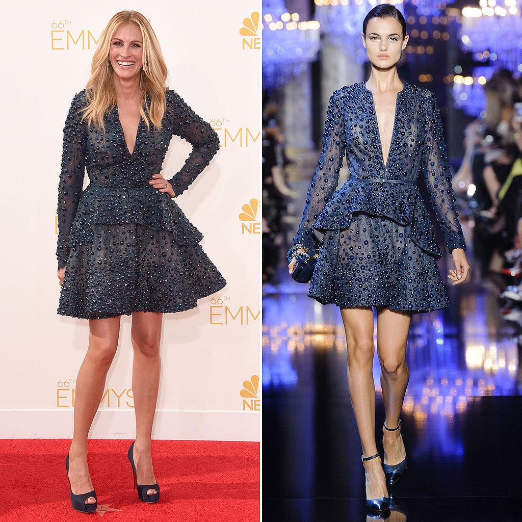 Julia Roberts Dress Emmys 2014 Emmys Best Dressed: Julie Roberts in Elie Saab