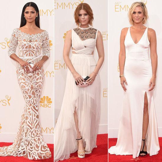 White Dresses at Emmy Awards 2014