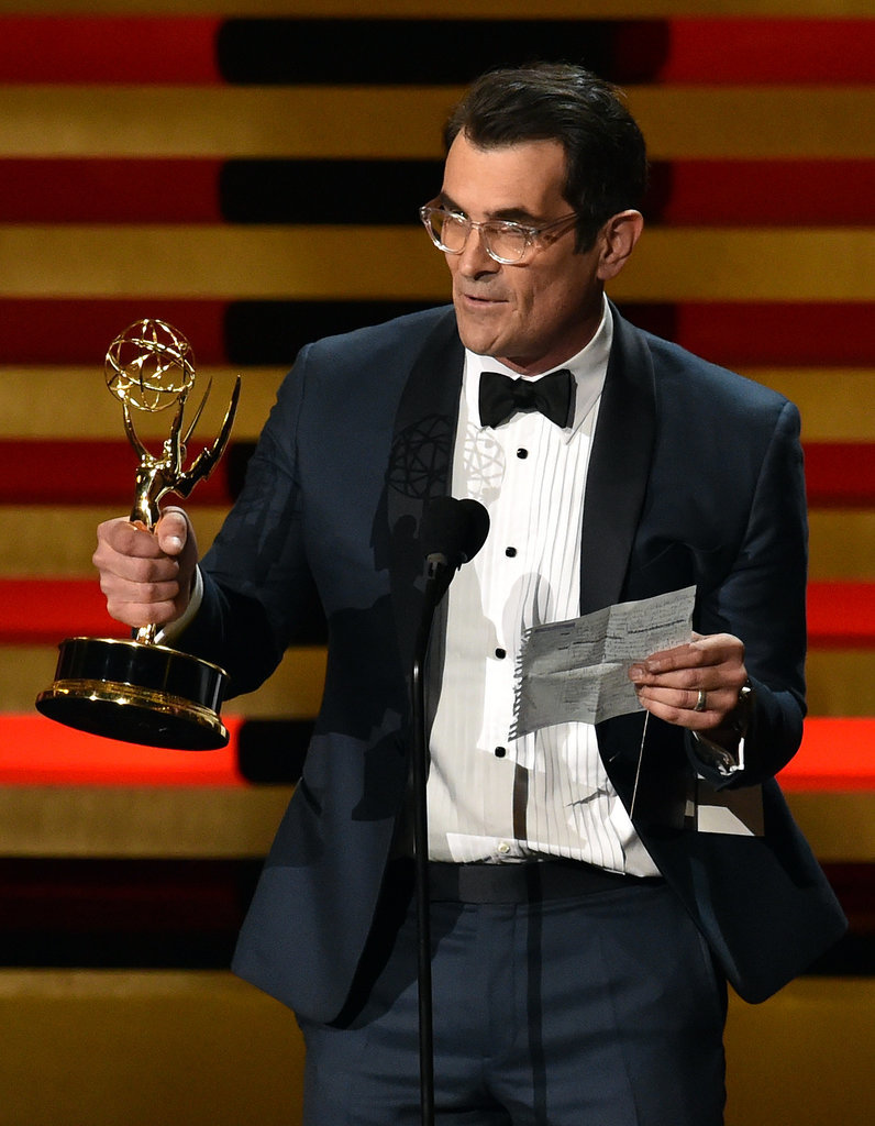Young Ty Burrell Celebrities at the Emm...