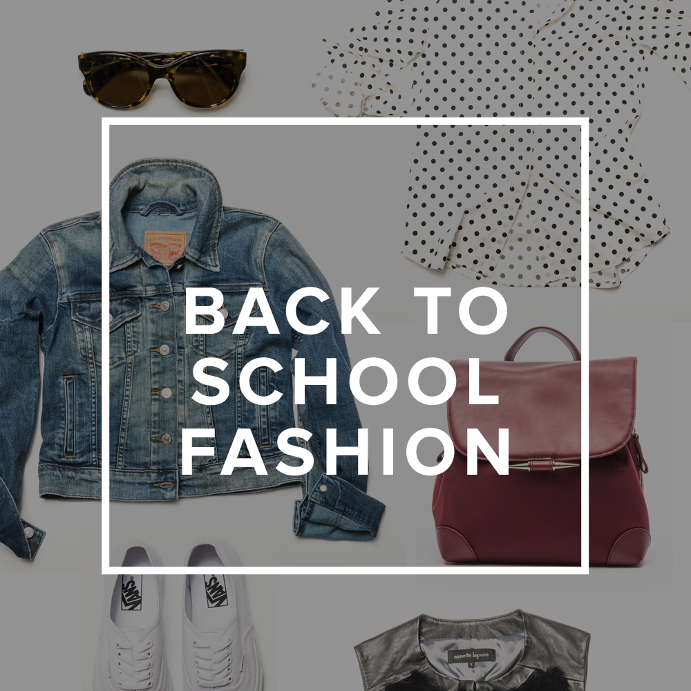 Shop the Ultimate Guide Back-to-School Fashion