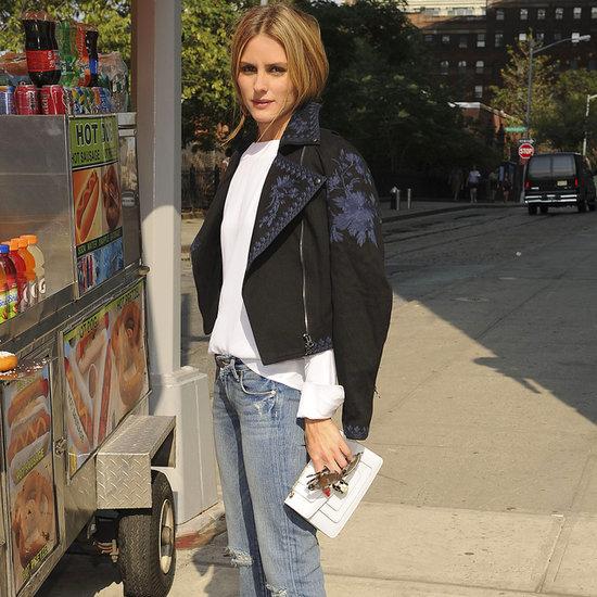 Olivia Palermo in ShopStyle Marchesa Voyage Jacket | Video