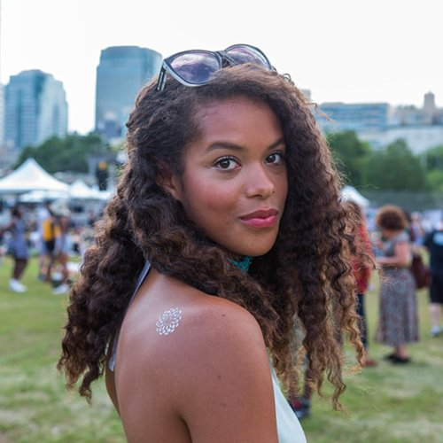Natural Hair Street Style