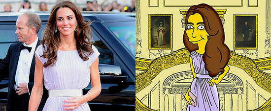 Kate Middleton Gets Styled by The Simpsons!