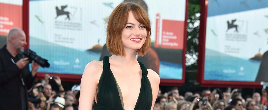 Emma Stone Opens the Venice Film Festival With a New Look