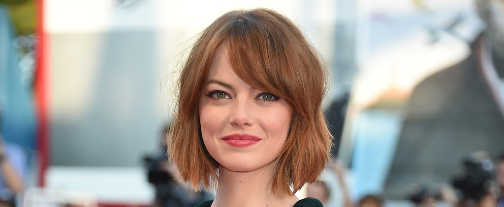 Emma Stone's New Bob Is the Best Crop in Haircut History