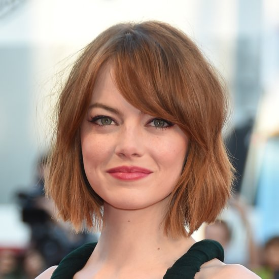 Emma Stone New Bob Hair Venice Film Festival 2014