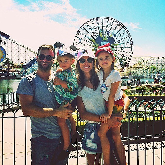 Alessandra Ambrosio celebrated her daughter's birthday at Disneyland.  Source: Instagram user alessandraambrosio