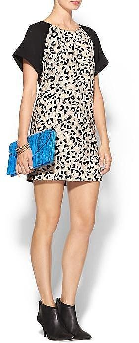 Keepsake Leopard-Print Dress