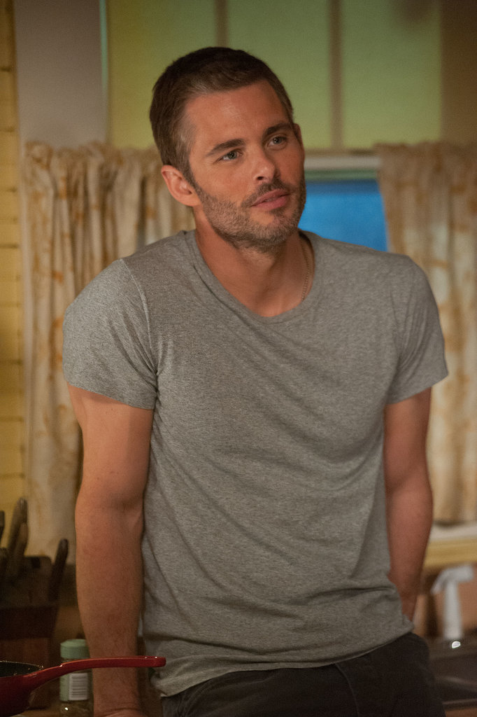 James Marsden plays the older Dawson.