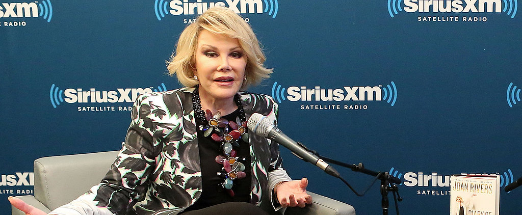 """Joan Rivers Is """"Resting Comfortably"""" After Major Health Scare"""