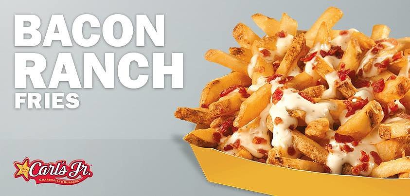 Carl's Jr. Bacon Ranch Fries