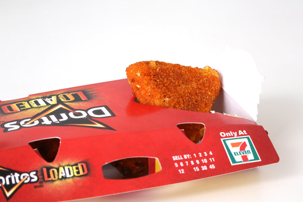 7-Eleven Doritos Loaded Cheese Wedges